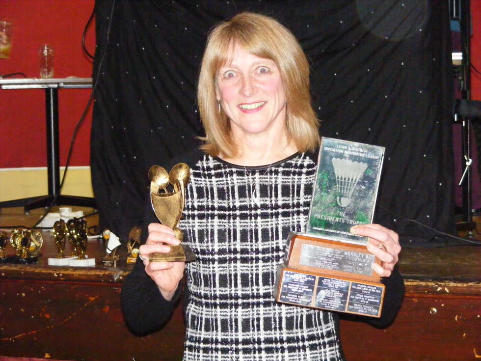 Presidents Trophy - Maureen Taylor
